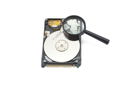 inches: the hard disk of 2.5 inches for the computer Stock Photo