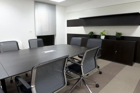 office cabinet: modern office interior. Stock Photo
