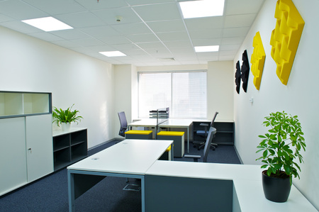 modern office interior. Standard-Bild