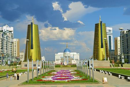 kazakhstan: Presidential palace Ak-Orda, Astana, Kazakhstan