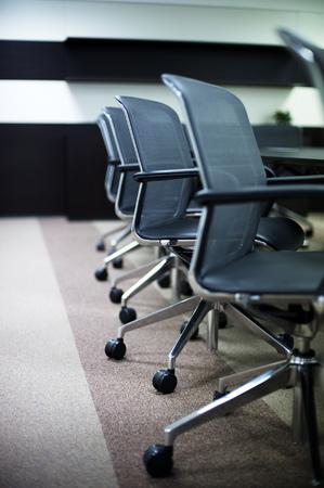 Prázdná firma konferenční místnost interiér.