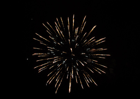 descriptive colours: Color Firework in the night sky