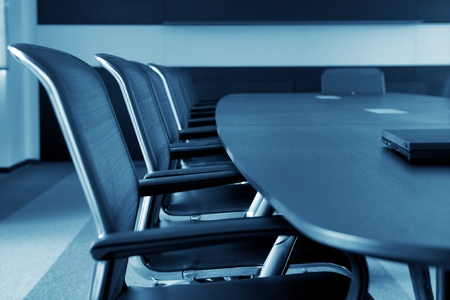 Prázdná firma konferenční místnost inter.