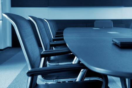 muebles de oficina: Sala de conferencias de negocios Interior vacío.