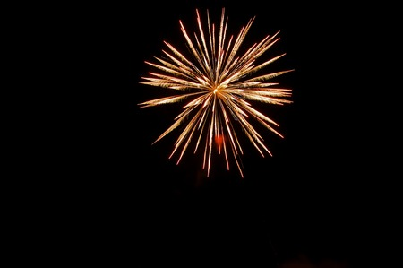 Fireworks in the night sky Stock fotó