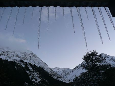 Icicle Mountain View