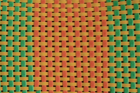 twill: Pink, blue and yellow color twill weave Stock Photo