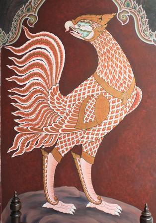 Thailand art in Wat Phra Kaew in Bangkok, Thailand Stock Photo - 7401870