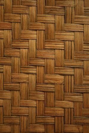 枝編み細工品または籐や竹の材料