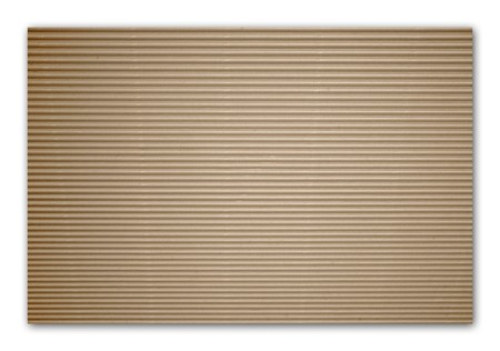 brown corrugated cardboard with background 免版税图像 - 7618240