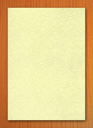 millboard: Close up paper color background on wood board