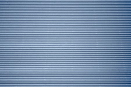 blue corrugated cardboard with background photo
