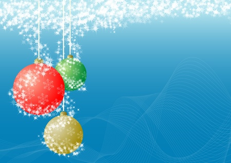 Christmas ball decorative abstraction background Stock Photo - 8312133