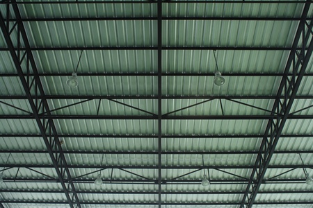 Roof of large modern hall photo