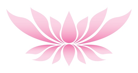 Illustration of the lotus flower
