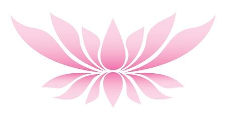 flor loto: Ilustraci�n de la flor de loto Vectores