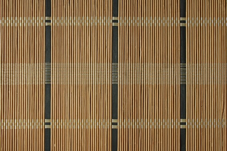 Bamboo mat detailed texture, background photo