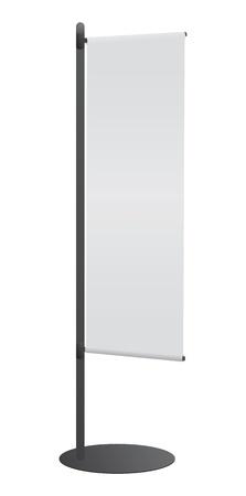 Blank banner japanese flag for designers Stock Vector - 9391514