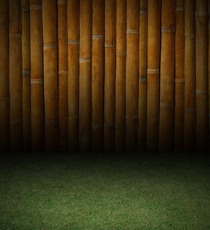 竹、草の背景テクスチャ