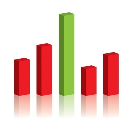 Business graph success chart data Stock Photo - 9743673