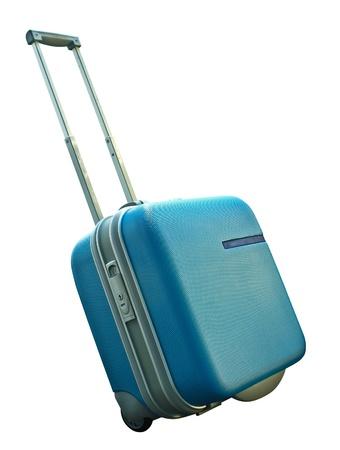 Suitcase isolated on a white background Stock Photo - 10026717