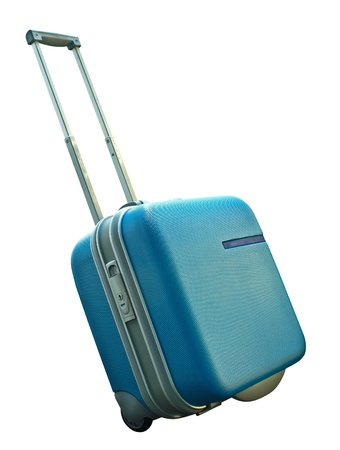 Suitcase isolated on a white background Stock Photo - 10026717