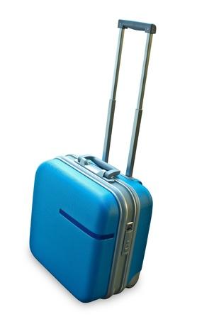 Suitcase isolated on a white background Stock Photo - 10128962