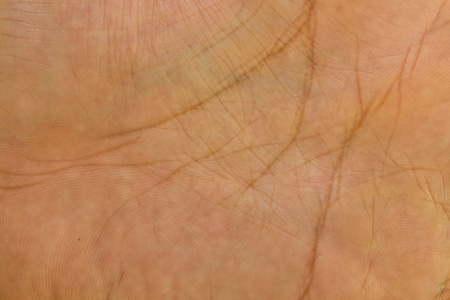 Close-up of human hand. Background or texture photo