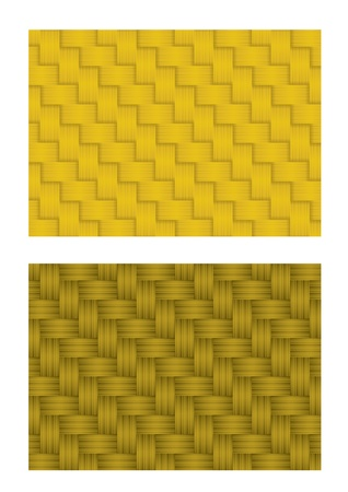 rattan: Wicker or rattan pattern seamless  Illustration