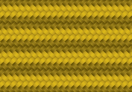 Wicker or rattan pattern seamless Vector