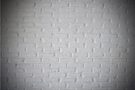 blanche: White brick wall for background