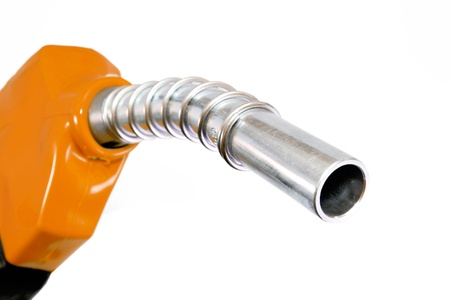 Refueling hose on white background Stock Photo - 15920213