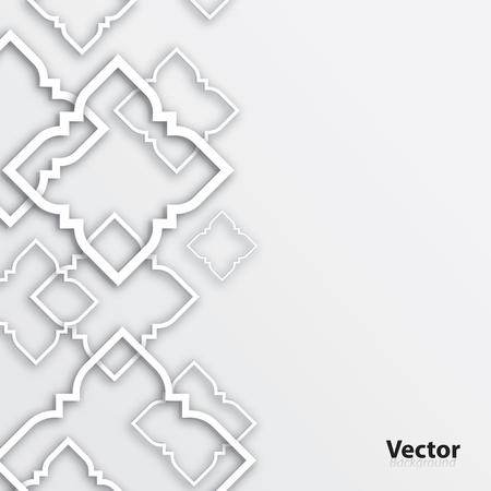 背景の抽象的なタイ芸術の 3 D デザイン