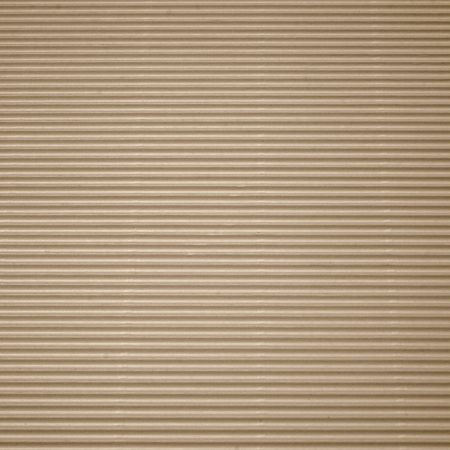Brown corrugated cardboard with background photo