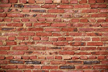 red brick wall for backgrounds or wallpaper