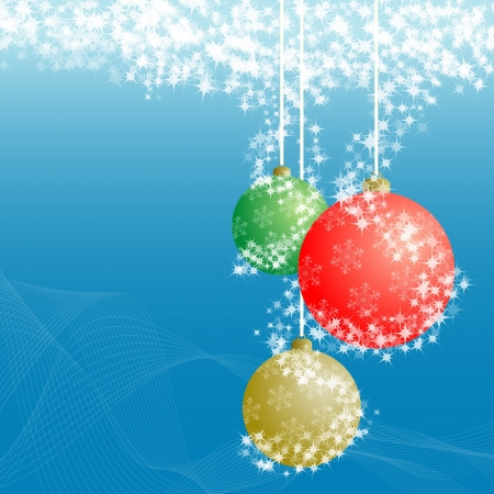 Christmas ball decorative abstraction background Stock Photo - 18707456