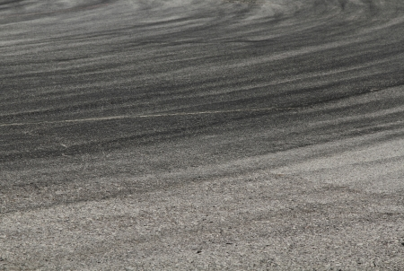 bolid: Tire marks on road track for background