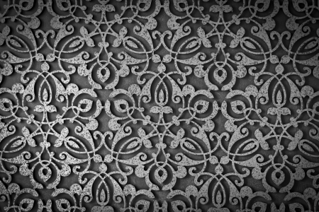 Old grunge metal texture pattern art background photo