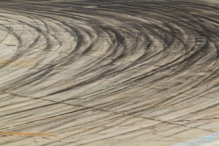 bolid: Background with tire marks on road track