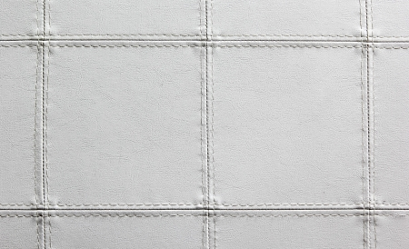 closeup white leather texture with for background photo