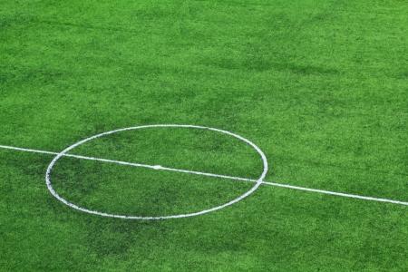pasto sintetico: Verde césped artificial campo de fútbol para el fondo