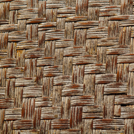 Wicker or rattan or bamboo material photo