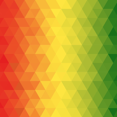 Abstract reggae geometric pattern with for background, Vector Vector