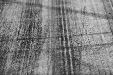 Tire marks on road track for background Stock Photo - 27735085