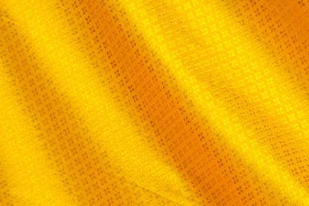 Thai silk gold color with for background