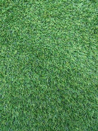 pasto sintetico: Campo de f�tbol de c�sped artificial verde