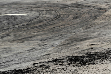 tire marks: Background with tire marks on road track