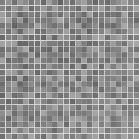 スイミング プールで灰色のセラミック タイル モザイク  イラスト・ベクター素材