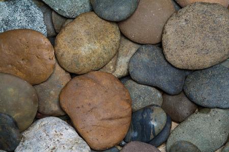 peeble: Pile of round peeble stones for background