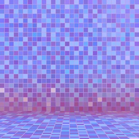 ceramic tile: Purple ceramic tile mosaic in swimming pool
